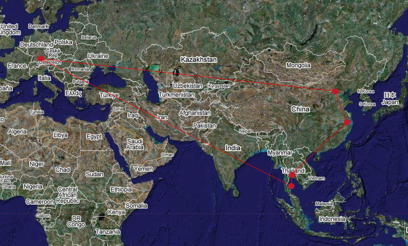 Travel Overview 03-2007
