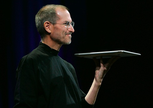Steve Jobs and the MacBook Air