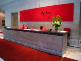 Ogilvy Worldwide Office Entrance in New York