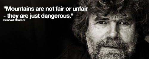Quote: Reinhold Messner