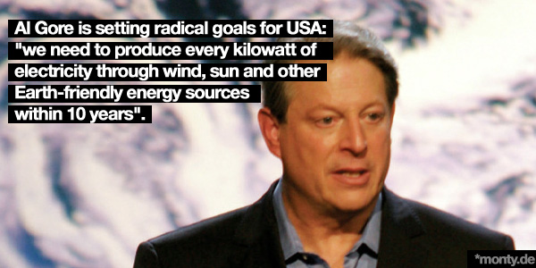 Al Gore on climate change and clean energy