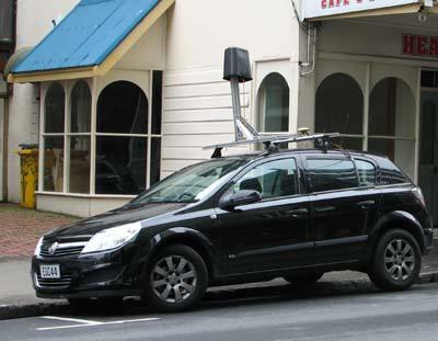 Google Camera Car