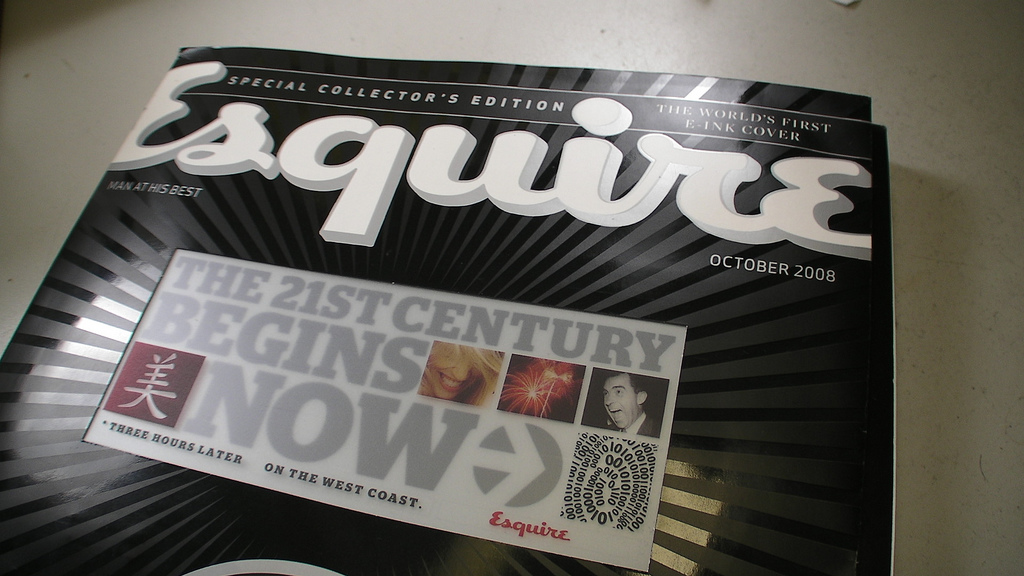 Esquire E-Ink Cover