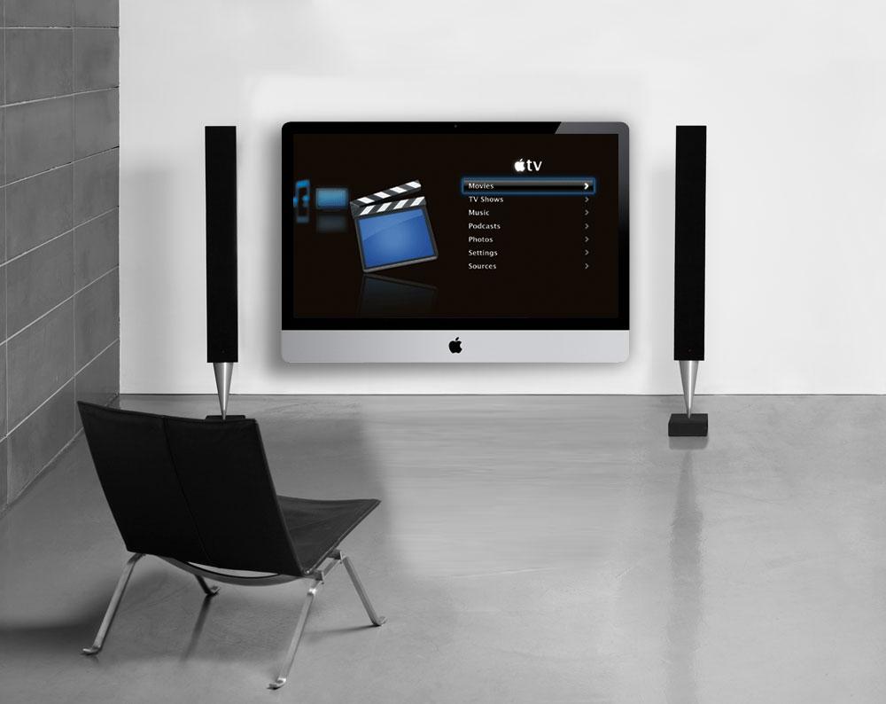 Apple Flatscreen TV