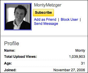 Monty Metzger - YouTube Channel