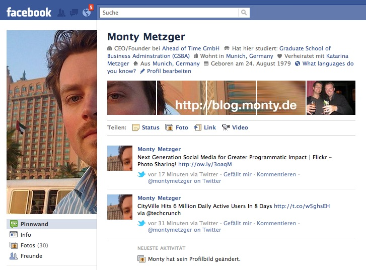 Monty Metzger Facebook