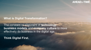 Digital Transformation Definition Keynote Speaker