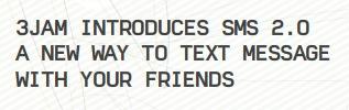 3jam SMS 2.0 USA