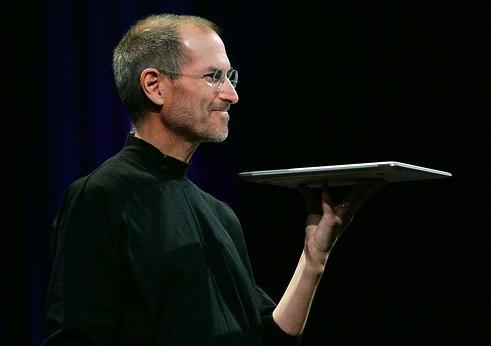 Steve Jobs and the MacBook Air