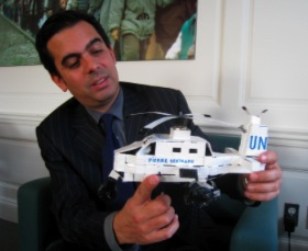UnHCR manager tours
