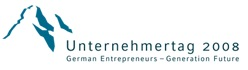 Unternehmertag 2008 Logo