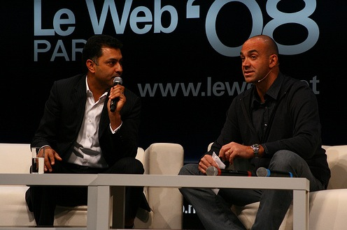 Le Web 2008: Nikesh and Loic
