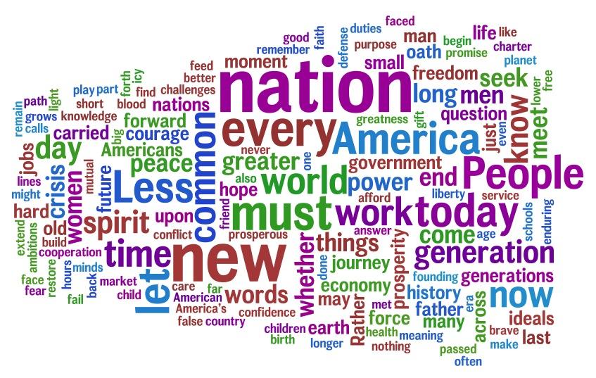 Barack Obama's Inauguration Speech analyzed