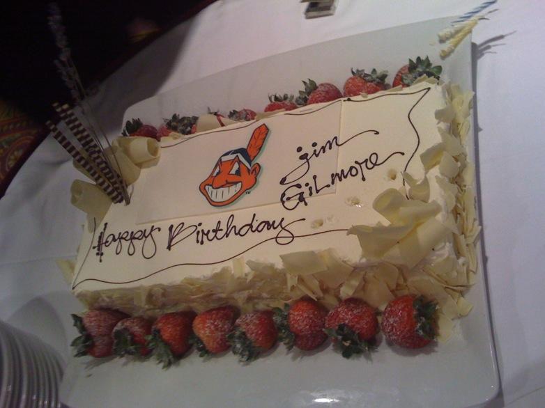 Birthday Cake for Jim Gilmore