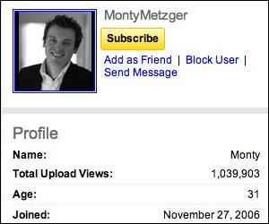Monty Metzger - YouTube Channel